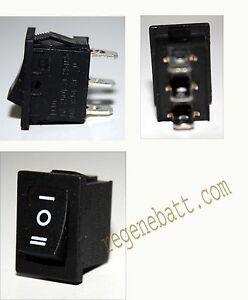 interrupteur 3 positions 3 pins va et vient 220v 6a 12v 24v 10a 21x15mm ebay. Black Bedroom Furniture Sets. Home Design Ideas
