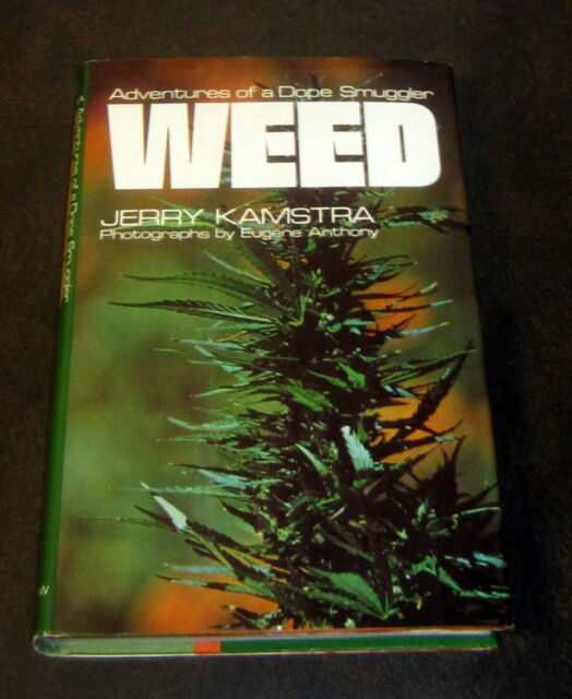 SIGNED by JERRY KAMSTRA WEED MARIJUANA SMUGGLER MEXICO PSYCHEDELIC CANNABIS 1974