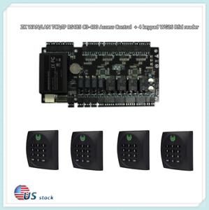 ZK WAN/LAN TCP/IP RS485 C3-400 Access Control + 4 keypad