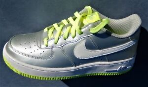 KIDS-NIKE-AIR-FORCE-1-GS-multiple-YOUTH-SIZES-SILVER-VOLT-314219-012-JORDAN