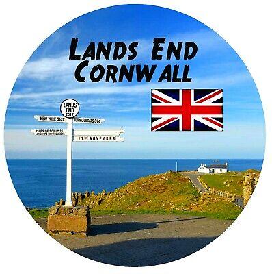 FRIDGE MAGNET Cornwall flag and shield