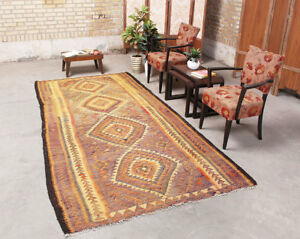 Image Is Loading Traditional Wool Tribal Geometric Vintage Kitchen Amp Living