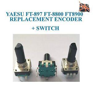 Yaesu-FT-897-FT-9897D-FT-8800-FT8900-RICAMBIO-Codificatore-a-rotazione-SWITCH-Q9000788