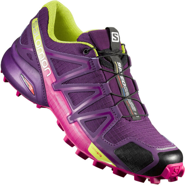 meet c3880 7a1c8 Salomon Speedcross 4 W Women's Running Shoes cross Boots Outdoor Hiking -  New