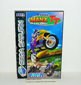 JEU-SEGA-SATURN-COMPLET-MANX-TT-SUPER-BIKE