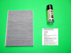 Aktivkohle Pollenfilter / Innenraumfilter + Klimareiniger Opel Meriva B