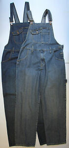 Adults-Mens-Denim-Dungarees-Jeans-dungaree-Blue-Stone-Wash-Pocket-S-M-L-XL-XXL
