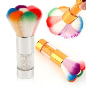 Manicura-Eliminador-de-polvo-cepillo-limpiador-para-acrylic-amp-uv-unas-en-Gel
