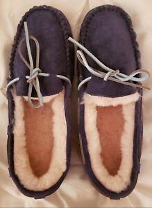 Boots Mocassin En Ugg's Couleur Nouveau Fabriqué Australia Us9 Sz Bleu Foncé gOHxnT6