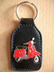 1133 Roller Scooter Px50 Rot Red Art Angemessen Schlüsselanhänger Piaggio Vespa Px 50