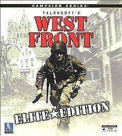 Computer Games - West Front Talonsoft PC Computer Game Elite Edition Campaign Series - DISC ONLY