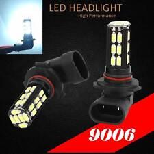9006 HB4 Samsung LED 30 SMD White 6000K Headlight 2x Light Bulb #Lb2 Low Beam