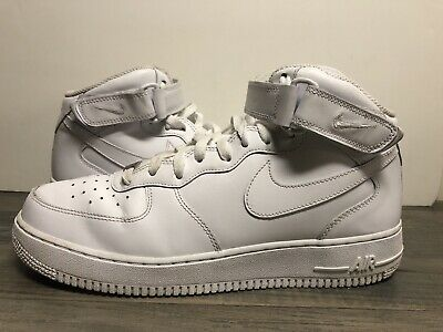 Size 11.5 - Nike Air Force 1 Mid '07 White 2017
