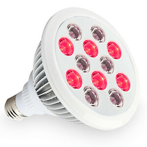 Red-and-Near-Infrared-LED-Light-Therapy-Bulb-660nm-850nm-24W-Anti-aging-and-Pain