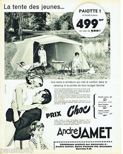 Image is loading Publicite-ADVERTISING-076-1962-tent-underwired-andre-jamet-  sc 1 st  eBay & PUBLICITE ADVERTISING 076 1962 la tente a armature camping André ...