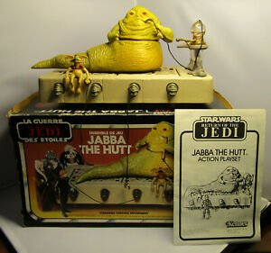 1983 Kenner Star Wars Return of the Jedi - Jabba the Hutt Complete With Box