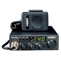Uniden Pro520xl Cb Radio With 7 Watt Audio Output [pro520xl]