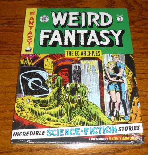 EC Archives Weird Fantasy Volume 2 Dark Horse Comics hardcover book SEALED
