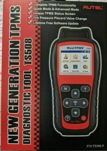 Autel TS508 Maxi TPMS Diagnostic Service Tool Kit Scanner