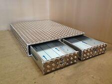 Aluminium 1000mm deep chequer plate drawer Land Rover landrover storage box