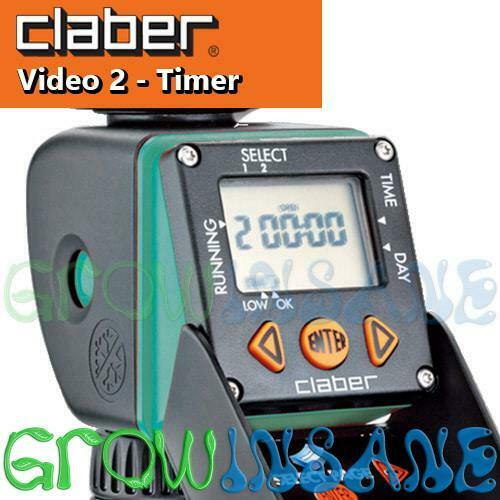 Claber Video 2 - Fully Programmable Garden Irrigation Tap Timer Battery Operated