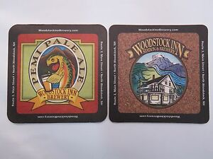 2 Bière Barre Dessous De Verre : Woodstock Inn Brewery Pemi Bière Blonde ~ Neuf G0p5bitd-07220946-219022701