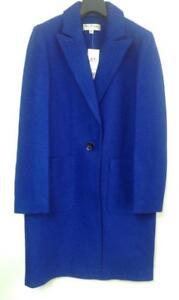Selfridge New Size Tag Miss 10 Brand Blue With Coat Midi BnUqO