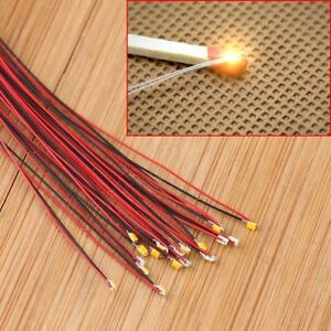 US-T0603WM-20Pcs-Pre-soldered-micro-litz-wired-leads-Warm-White-SMD-Led-0603
