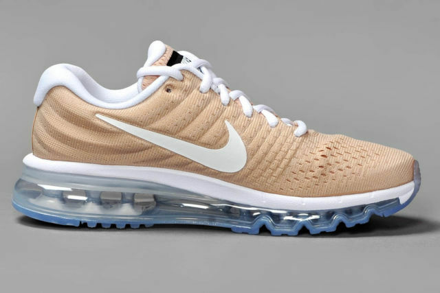 Nike Air Max 2017 Baskets UK 5 EU 38.5 femme 849560200 Beige Run Gym