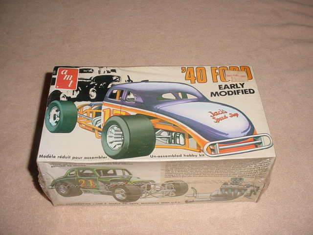 Original 1970s AMT '40 Ford Early Modified Model Car Kit MIB T167