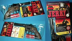 WICKE ROCKY AGENT SPIELZEUG REVOLVER PISTOLE CAP GUN VINTAGE