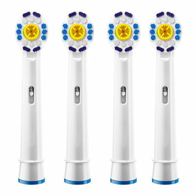 4PCS Toothbrush Replacement Heads for Braun Oral-B triumph Electric Toothbrush