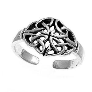 Gerade Zehenring Fußschmuck Damen Herren Verstellbar Sterling Silber Modell 6 HeißEr Verkauf 50-70% Rabatt