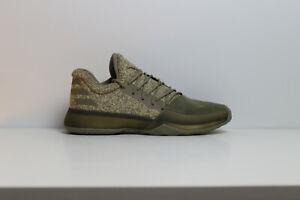 05a3791a152 adidas Harden Vol.1 BW0550 Cargo Green Khaki Basketball Volleyball ...