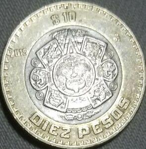 Mexico 10 Pesos 2015 EF XF