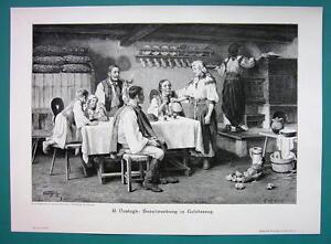 ROMANIA-Hungarian-Courtship-in-Kalotaszeg-Tara-Calatei-VICTORIAN-Era-Print