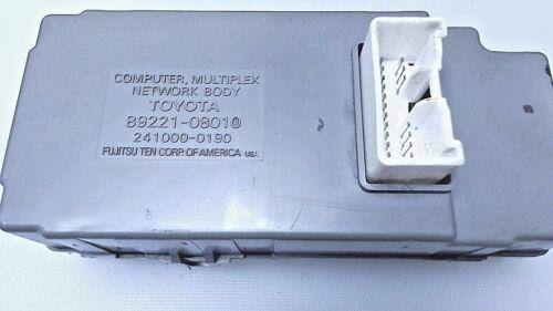 89221-08010 Toyota Sienna Computer Multiplex Network Body Used