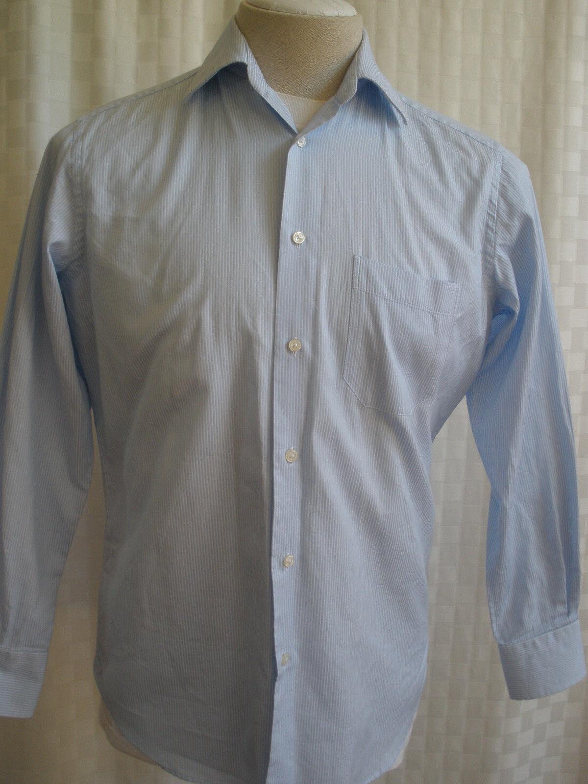 Boss Hugo Boss Classic Fit Algodón camisa de  mangas largas Talla 14.5 (32-33) Buen  145  los nuevos estilos calientes