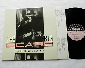 SZAJNER-The-Big-Scare-FRENCH-Orig-12-034-EP-NEW-ROSE-NEW-1984-Cold-Wave-synth-NEW