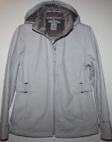 Free Country Women's Ivory Beige Active Jacket Soft Shell Coat W/ Hood
