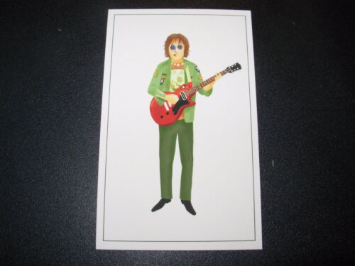 "MAX DALTON John Lennon the beatles 2X4/"" poster art handbill"