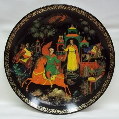 Bradford Exchange Plate Firebird 7 34in Russian 11th plate #6437