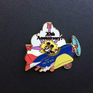 20th-Anniversary-Serving-Orlando-Mickey-Mouse-Plane-Disney-Pin-7387