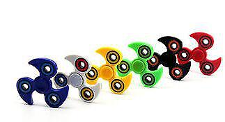 Bangers doigt Ninja Spinner main Focus SPIN ACIER EDC portant stress jouets UK