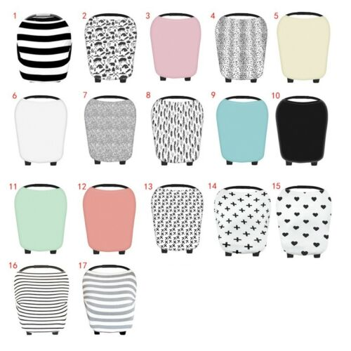 US Baby Car Seat Cover Breasfeeding Multi-Use Canopy Nursing for Infant Stretchy