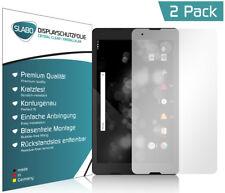 Slabo Displayschutzfolie für TrekStor Primetab P10 (2er Set) KLAR Crystal Clear