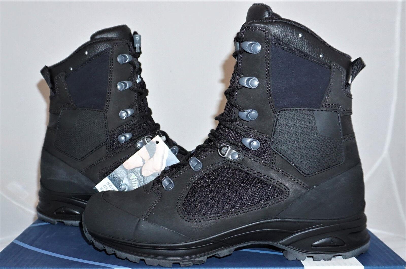 Haix Nepal Pro schwarz UK 7 EU 41 US 8 Kampfstiefel Wanderstiefel Leder NEU
