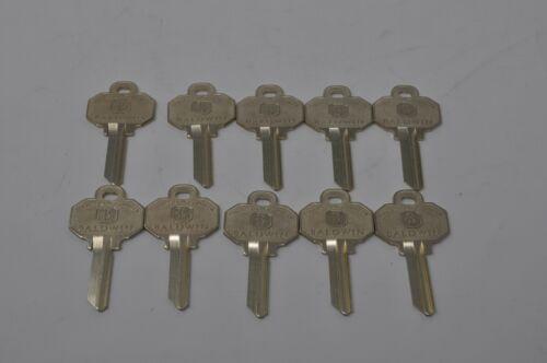 Lot of 10 Baldwin C House Key Blank 8335-152 C03 5 Pin Kwikset NEW UNCUT