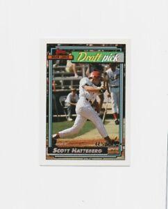 1992-Topps-Gold-Winner-Scott-Hatteberg-ROOKIE-Baseball-Card-734