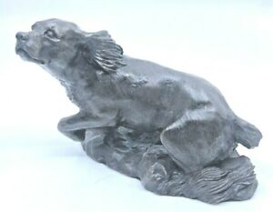Heredities-Limited-Kirkby-Stephen-England-Hunting-Dog-Miniature-Figurine